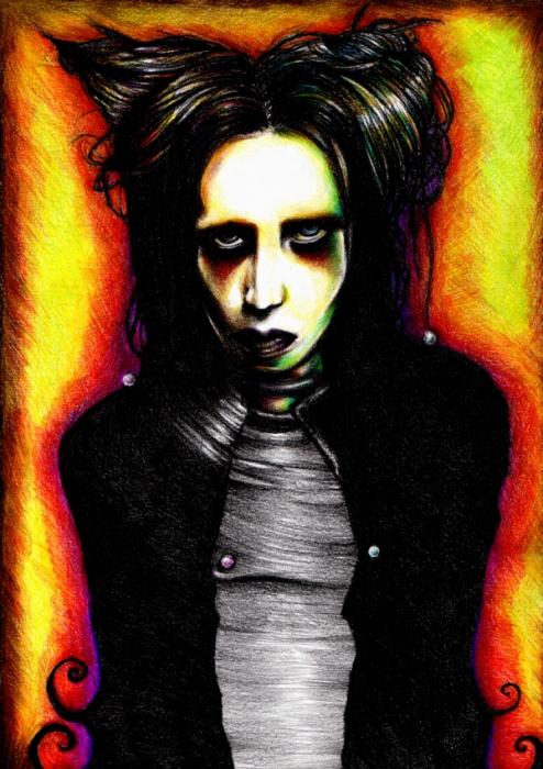Marilyn Manson by Ellyu